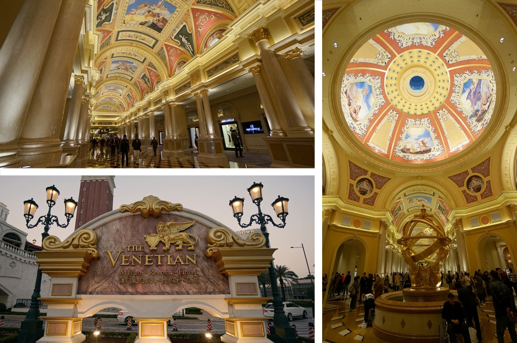 Very grand at the Venetian